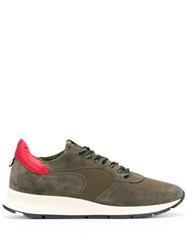 Philippe Model Lace Up Sneakers Green