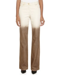 Escada Boot Cut Ombre Jeans Greige