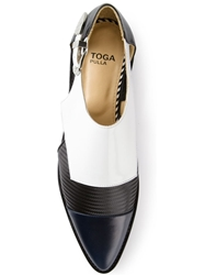 Toga Pulla Colour Block Shoe Black