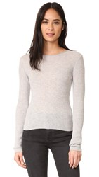 Vince Cropped Cashmere Sweater H. Grey