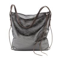 Ina Kent Stroll Metallic Anthrazite Bag
