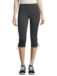 Marc New York Cropped Active Leggings Charcoal