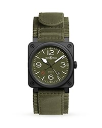 Bell And Ross Br 03 92 Mlitary Type Ceramic Watch 42Mm Green