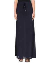 Devotion Skirts Long Skirts Women Dark Blue