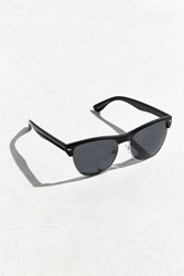 Urban Outfitters Large Half Frame Sunglasses Black