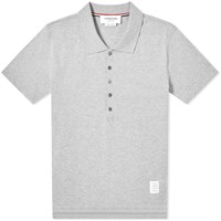 Thom Browne Relaxed Fit Polo Grey
