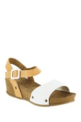 Rocket Dog Gem Wedge Sandal White