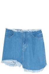 Marques Almeida Asymmetric Frayed Skirt