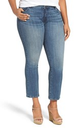 Kut From The Kloth Plus Size Women's 'Reese' Crop Flare Leg Jeans Perfection
