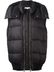 Stella Mccartney Oversize Gilet Black