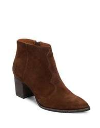 Dolce Vita Lennon Suede Ankle Booties Acorn