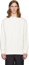 Rag And Bone Off White Racer Pullover