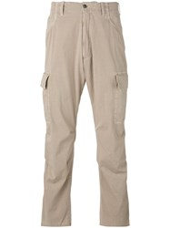 Pt01 Loose Fit Trousers Men Spandex Elastane Virgin Wool 48 Nude Neutrals