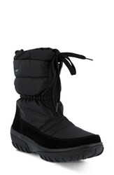 Spring Step Women's Lucerne Waterproof Drawstring Boot Black