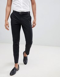 Burton Menswear Skinny Fit Trouser In Black