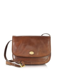 The Bridge Story Donna Marrone Leather Crossbody Bag Dark Brown