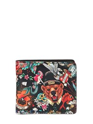 Dsquared Tattoo Printed Leather Classic Wallet