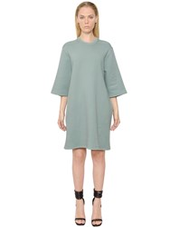 Rick Owens Drkshdw Cotton Sweatshirt Tunic Dress