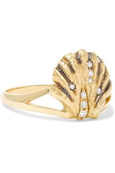 Venyx Lady V 18 Karat Gold Diamond Ring