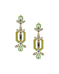 Sparkling Sage Detailed Stone And Shape Drop Earrings Compare At 72 Gold Mint