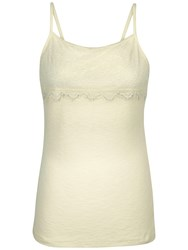 Fat Face Lace Cami Ivory