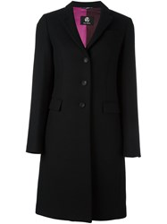 Paul Smith By Single Breasted Coat Black