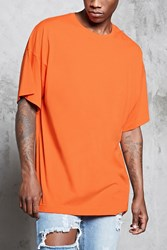 Forever 21 Crew Neck Dropped Sleeve Tee