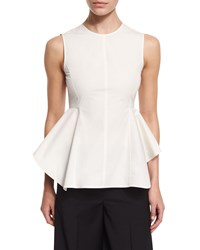 Petite Kalsing Light Sculptural Peplum Top Women's New Canepa Theory