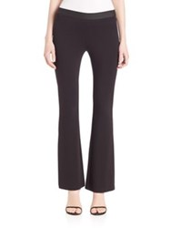 Bcbgmaxazria Power Ponte Flared Pants Black