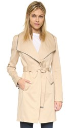 Soia And Kyo Kaella Wrap Trench Sand