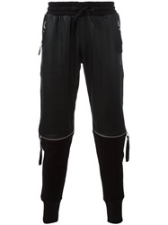 Blood Brother Broad Joggers Black