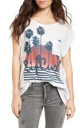 Rip Curl Women's Travel Life Graphic Tee
