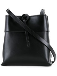 Kara Plain Shoulder Bag Black