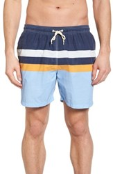 Barbour Beach Swim Trunks Light Blue