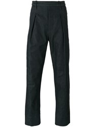 Christophe Lemaire Tailored Pants Blue