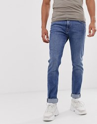 Weekday Friday Skinny Jeans In Blue