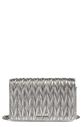 Miu Miu Women's Matelasse Wallet On A Chain