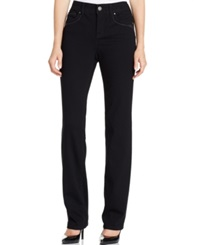 Style And Co. Tummy Control Slim Leg Jeans Black Wash