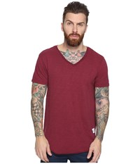 Kinetix Basic T Shirt Merlot Men's T Shirt Red