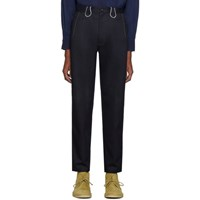 Blue Blue Japan Indigo Twill Piped Trousers