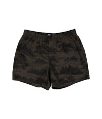 Vans Old Skool Woven Boxers Tahoe Floral Men's Underwear Brown