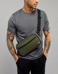 Lyle And Scott Fitness Sports Bum Bag In Green
