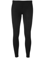 Maison Martin Margiela Mm6 Classic Leggings Black