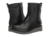 Salvatore Ferragamo Freddo Rain Boot Black Men's Boots