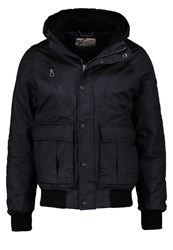 Petrol Industries Winter Jacket Black Navy Dark Blue