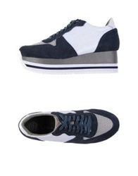 Jeffrey Campbell Low Tops And Trainers Dark Blue