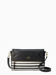 Kate Spade Cobble Hill Straw Marsala Black Cement
