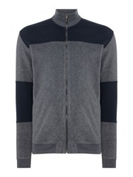 Minimum Men's Zipped Sweatshirt Dary Grey Marl
