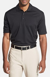 Cutter Buck 'Genre' Drytec Moisture Wicking Polo Big And Tall Black