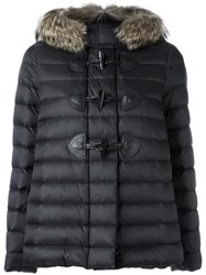 Red Valentino Padded Jacket Black
